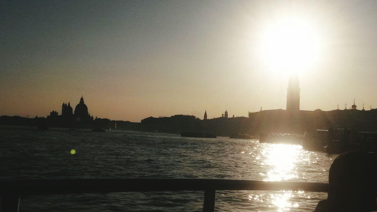 Venice School Trip Sunset Goodbye