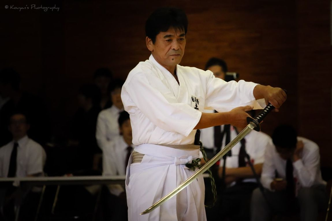Iaido Kendo Exhibition EyeEm EyeEm Best Shots Portrait Sports Sport Budo Japanese Culture
