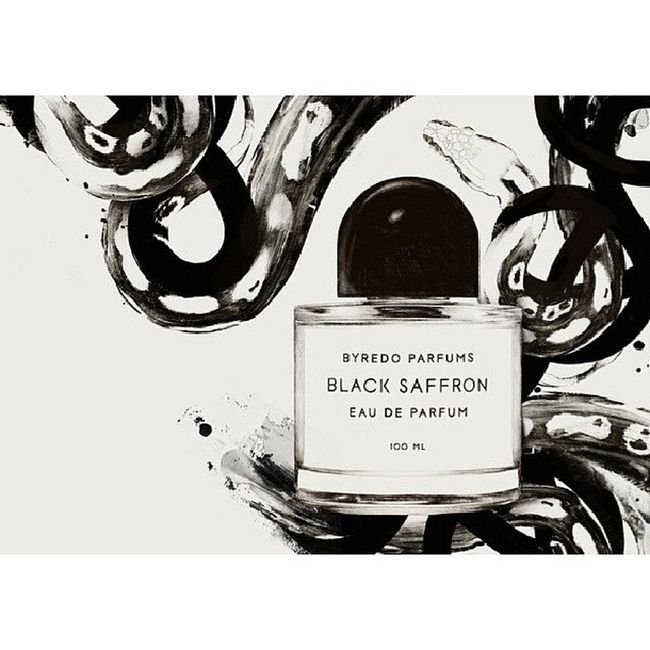 Smoky leather & raspberry saffron/iris love. Byredo Bbloggers