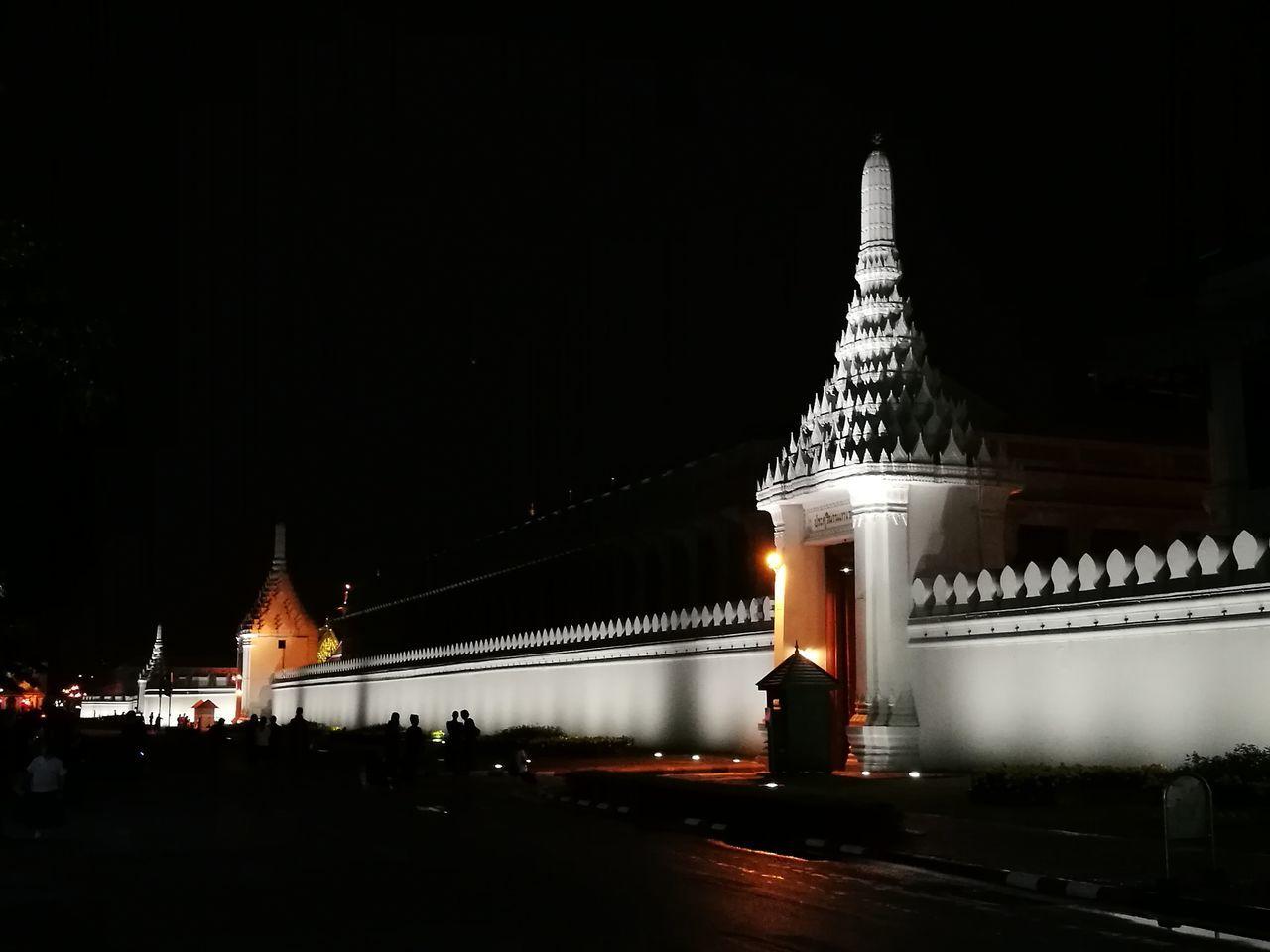Night Travel Travel Destinations Sanamluang Photography HuaweiP9 Respect Bangkok Thailand. Grand Palace Bangkok Thailand