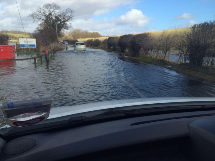 Heading through the floods UKFloods