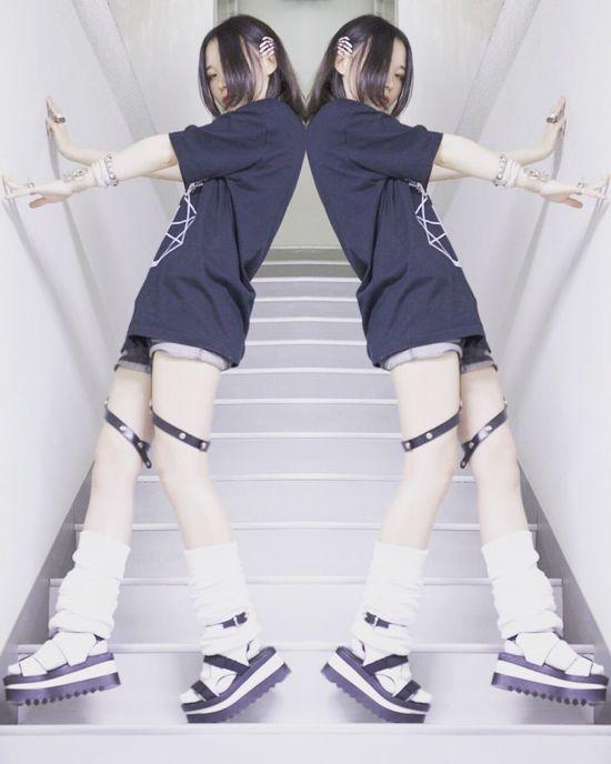 Makeportraits Fashionmodel  Japanese Girl Black Photos Model Make Art Photography Japan Photography Photo Japanese  White 退廃的 Acolasia