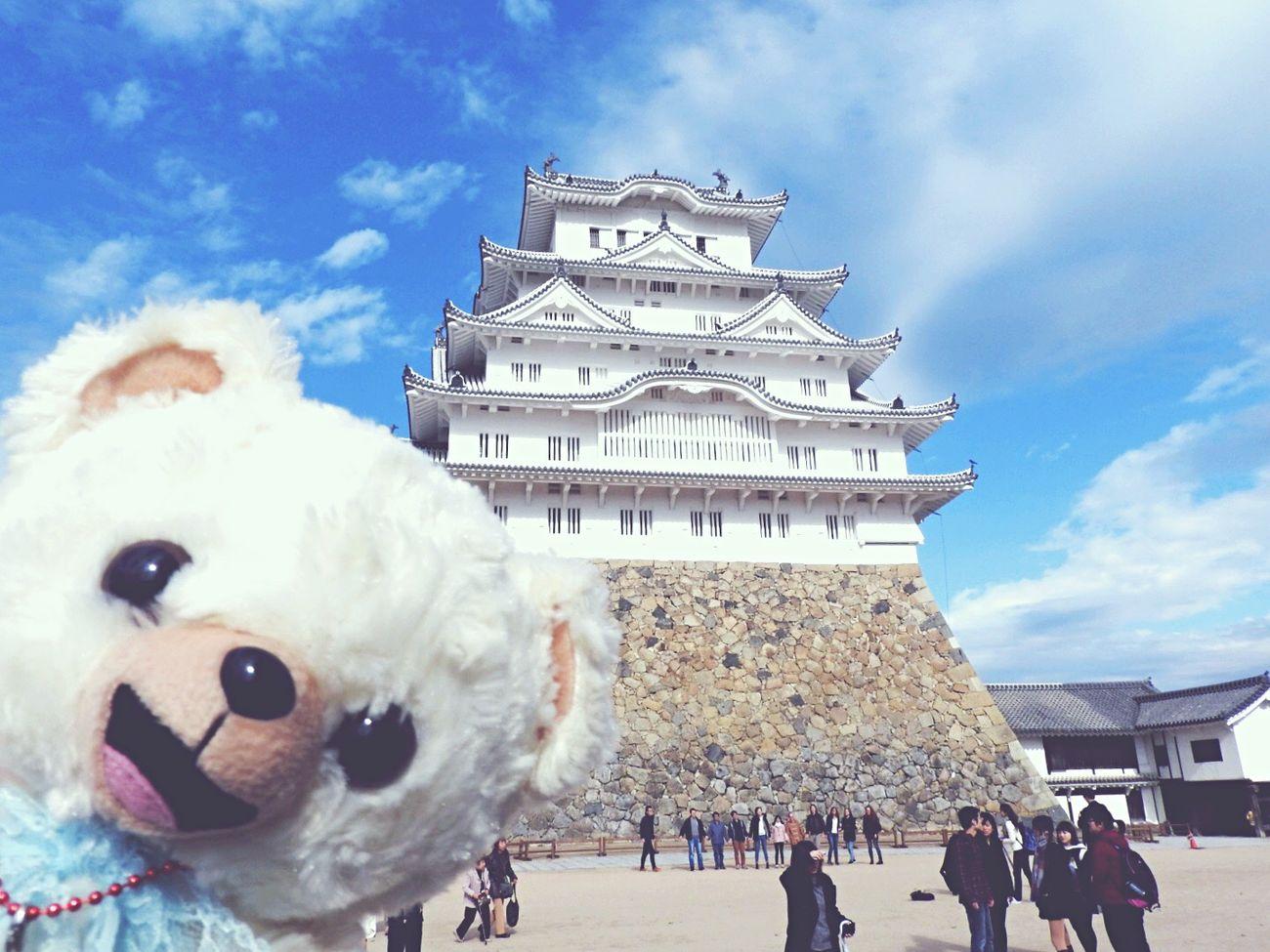Himeji castle & Teddy bear Castle Japan Teddybear Fafa Snuggles