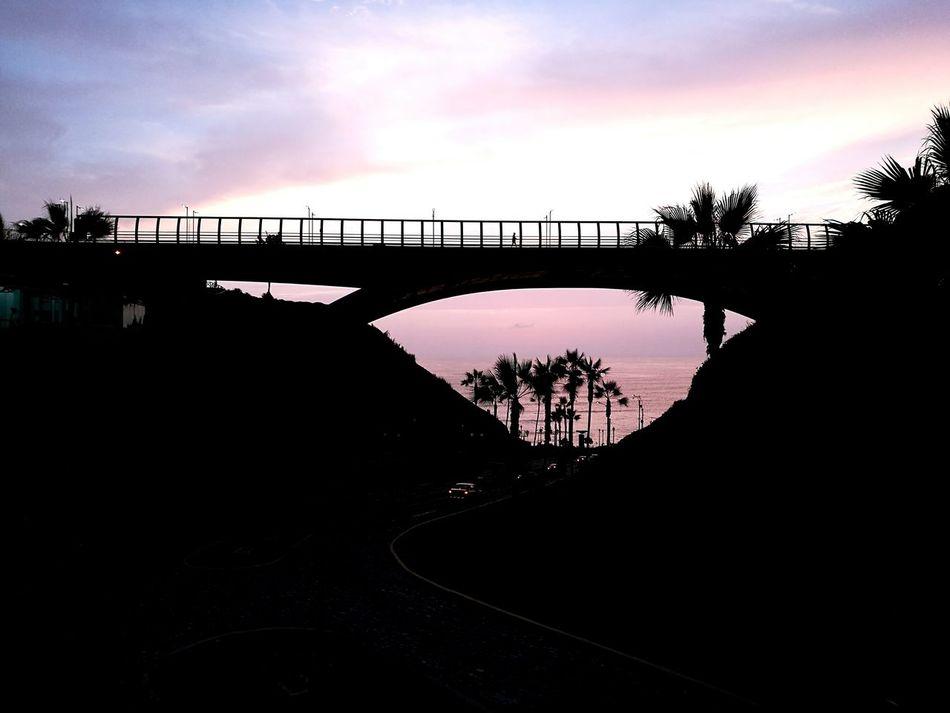 Sunrise Bridge Sea OverviewPoint Calmness Me And The Sun EyeEmNewHere