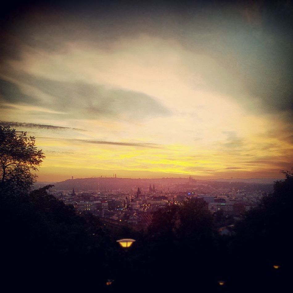 I am so much Grateful to be the one who can Live Fully in this Beautiful and amazing city called Prague, Czechrepublic This picture was captured and edited in instagram from Vitkov right fromwhereistand