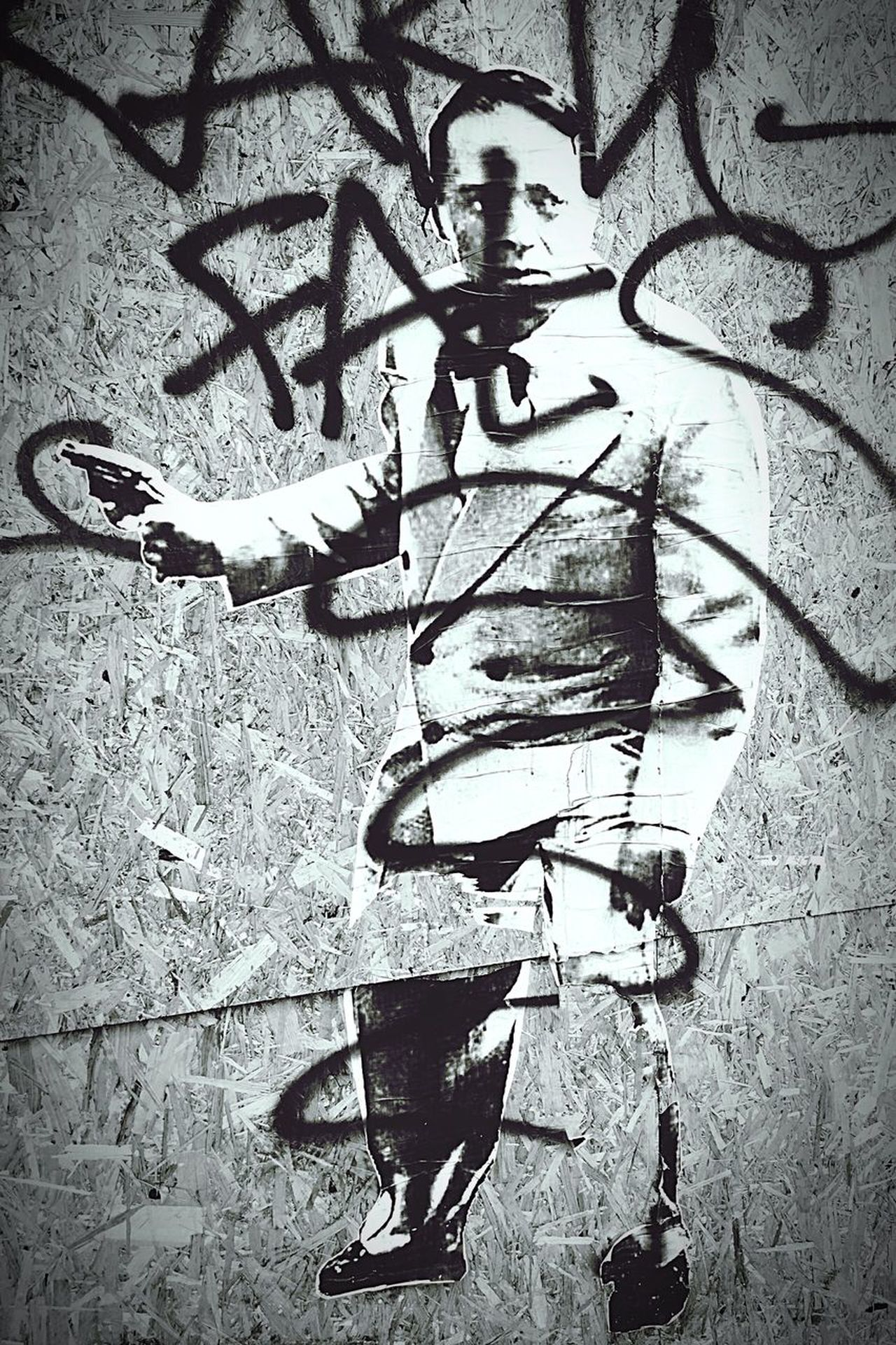 No People Dressed Up Sticker Big Wall Stonegraphix Estetic Smoking Gun Close-up Day Homme Moderne Noir Et Blanc Black And White Blanc Et Noir The Portraitist - 2017 EyeEm Awards EyeEmNewHere The Street Photographer - 2017 EyeEm Awards BYOPaper!