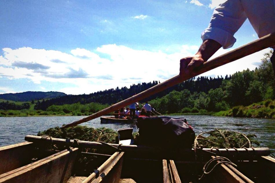 Poland 💗 Polandisbeautiful Nature Photography Polishmountains River View Flisak