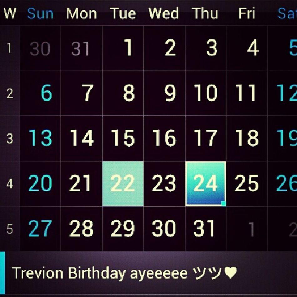 Trevion Birthday