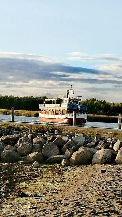 Water Rock - Object Scenics Tourism Harbor Cruise Harbor View Rostock Mecklenburg-Vorpommern