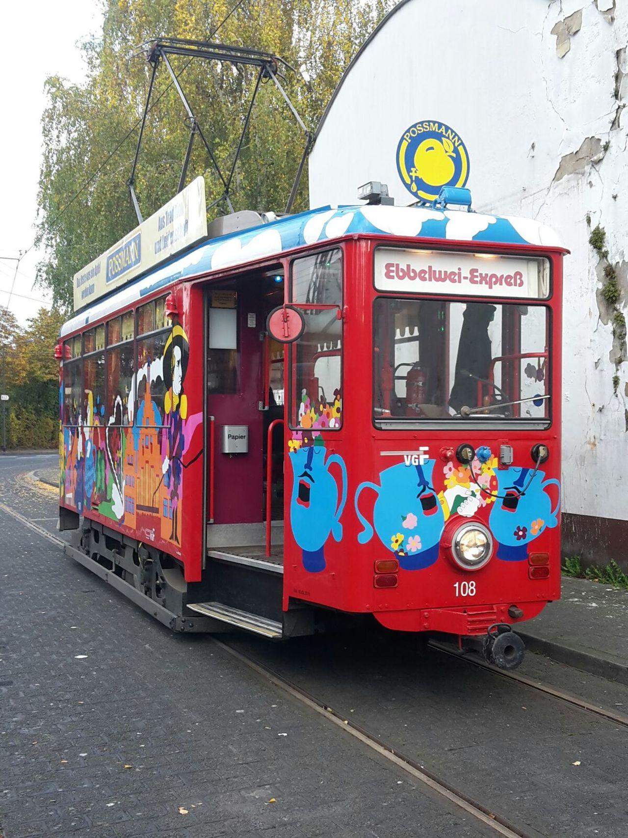 Frankfurt Frankfurt Am Main Tram Apfelwein Apple Wine Ebbelwoi Express Ebbelwoi Ebbelwei Express