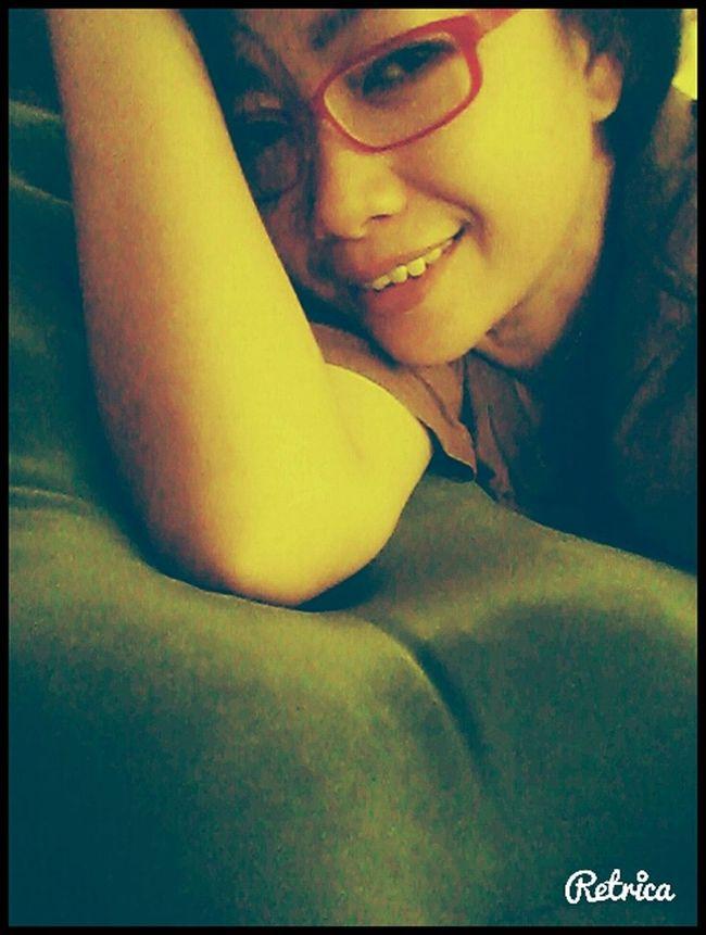 That's Me santai belum lengkap tanpa Selfiean xixixixiii... Relaxing ♡
