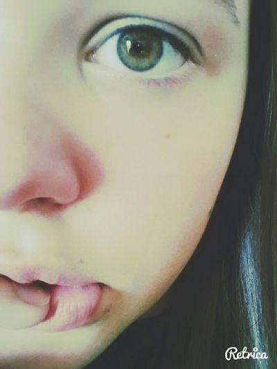 My eyes look really green today^-^ Hmu On Kik :) Long Ass Day JustMe(:  Hmu