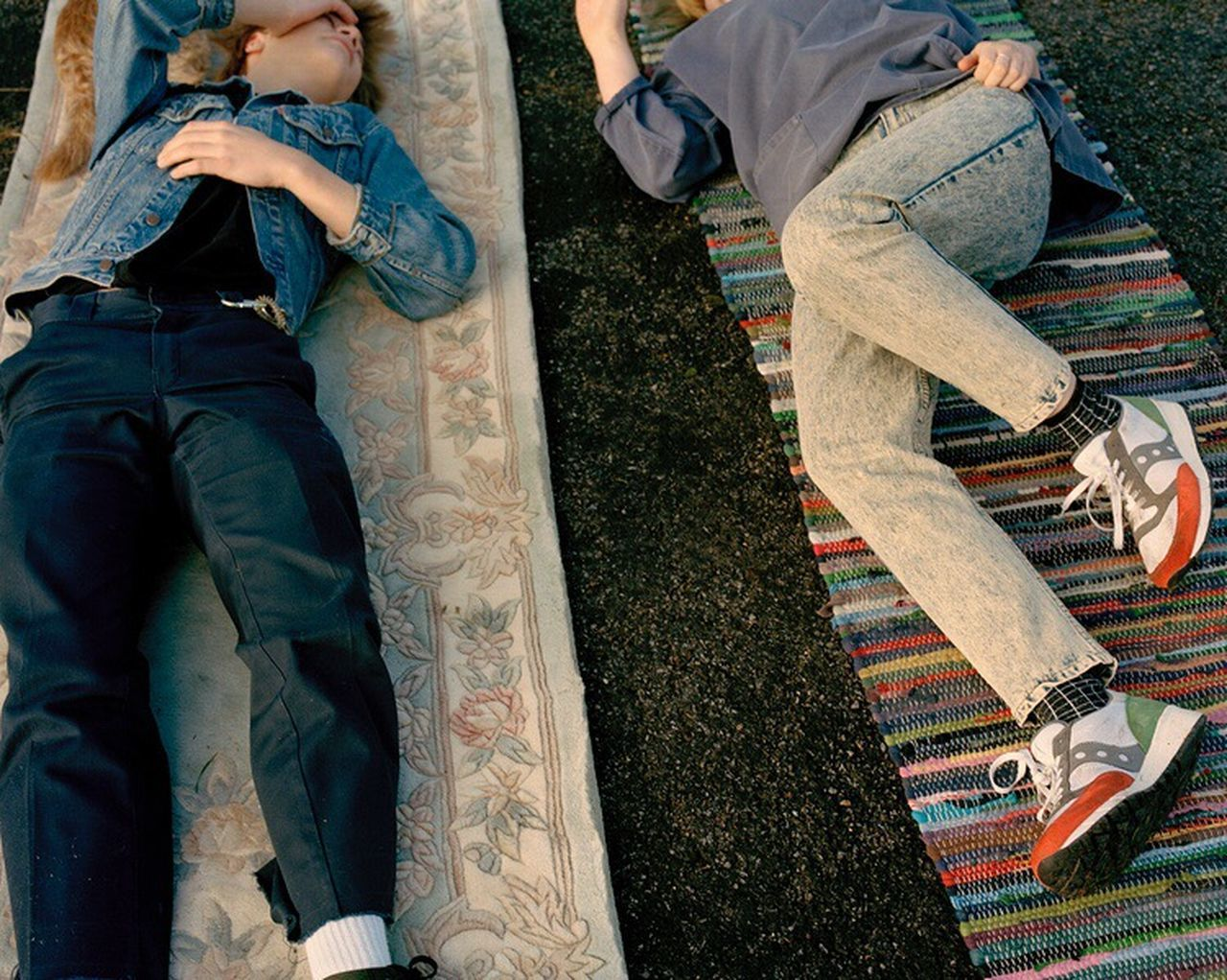 Noah & Ada, Suffolk 2016 filmisnotdead countryside burystedmunds suffolk Film February hometown friendship youth culture outdoors Relaxing lying down denim Jeans trainers