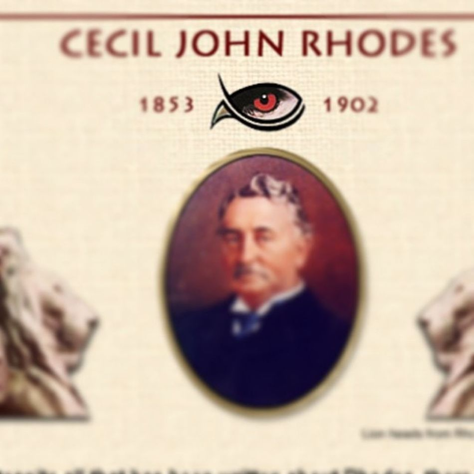 Illuminati? Hmmm... Cecilrhodes History Southafrica Newobsession -kinda :) blogideas