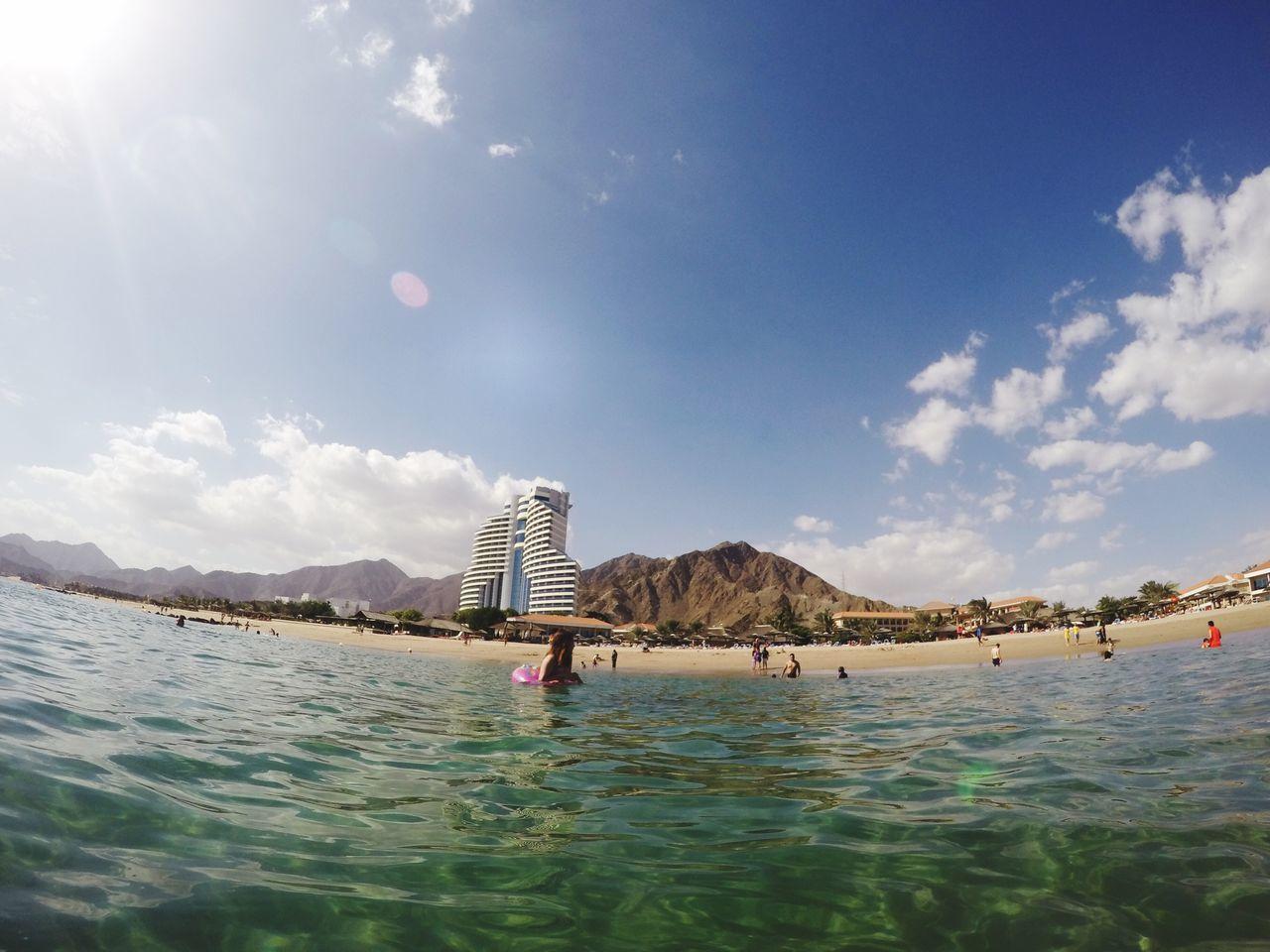 Water Mountain Sky Nature Beach Fujairah UAE Rotana Finding New Frontiers