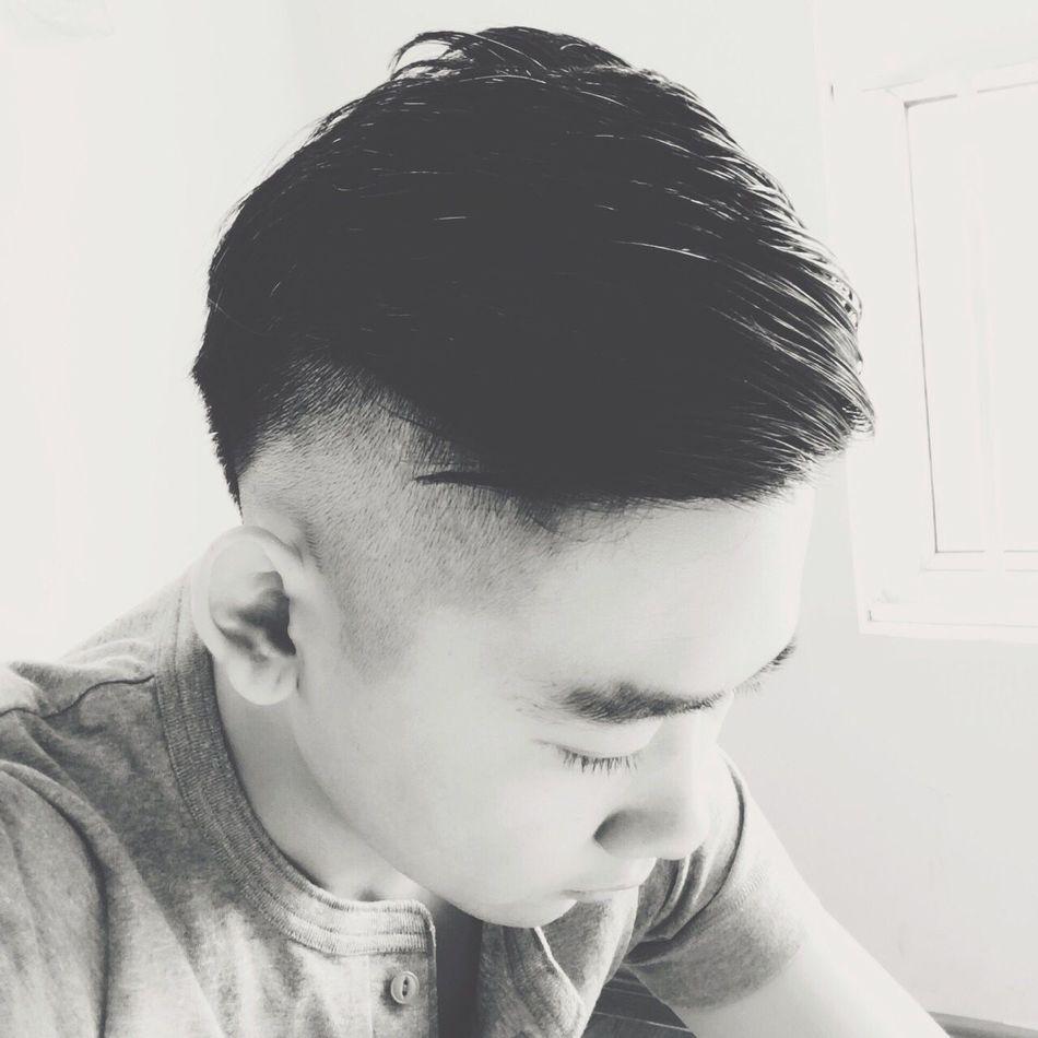 Me again That's Me Hi! Hello World Hair Haircut Selfie ✌