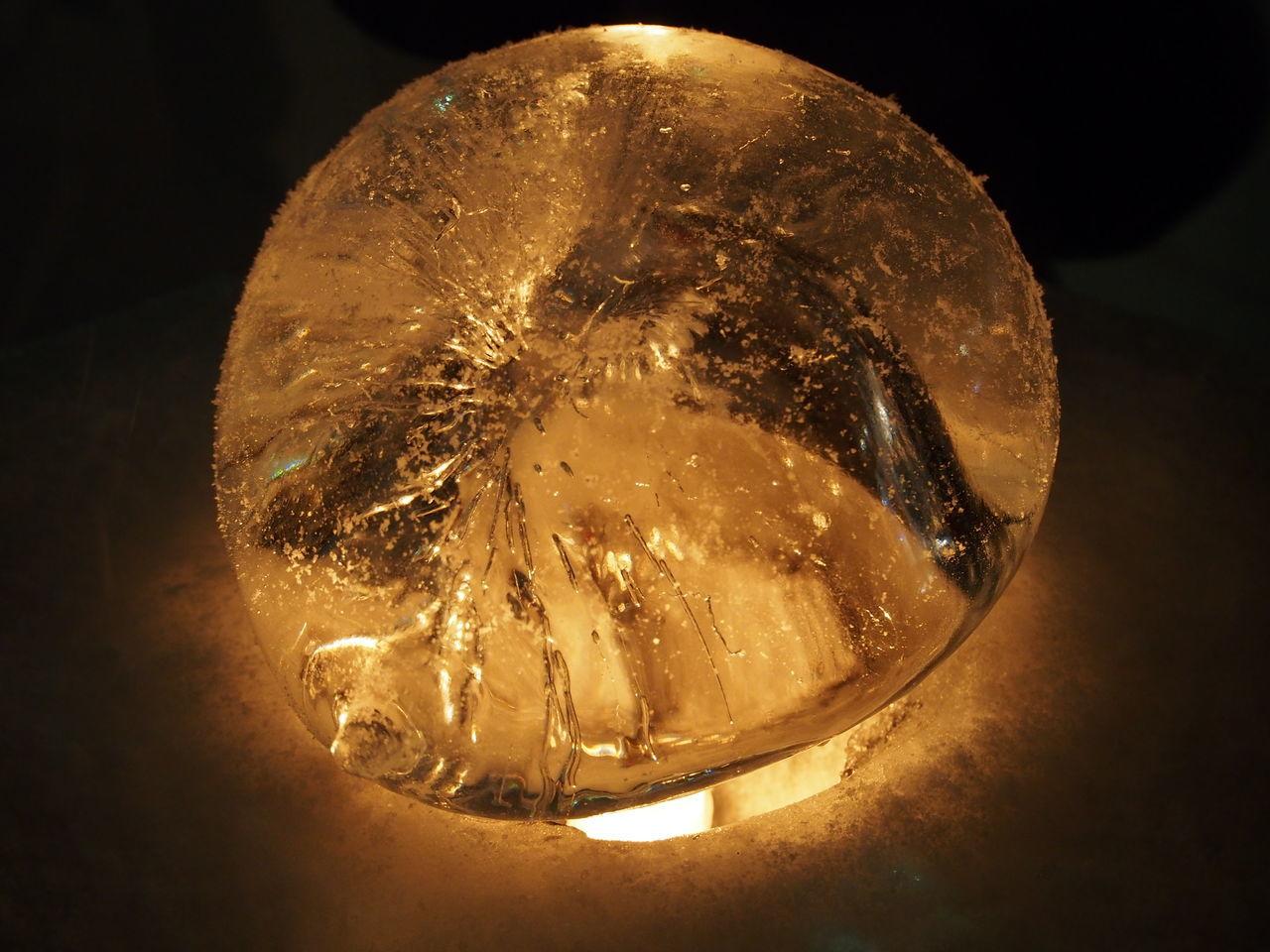 Ice Ice Lump Lump ランプ ランプシェード 氷