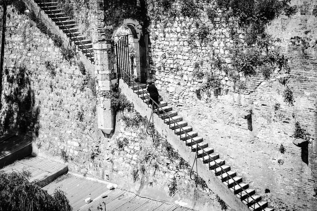 Stairs in Corfú, Greece Taking Photos Blackandwhite Eye4photography  The Traveler - 2015 EyeEm Awards Streetphotography Black And White