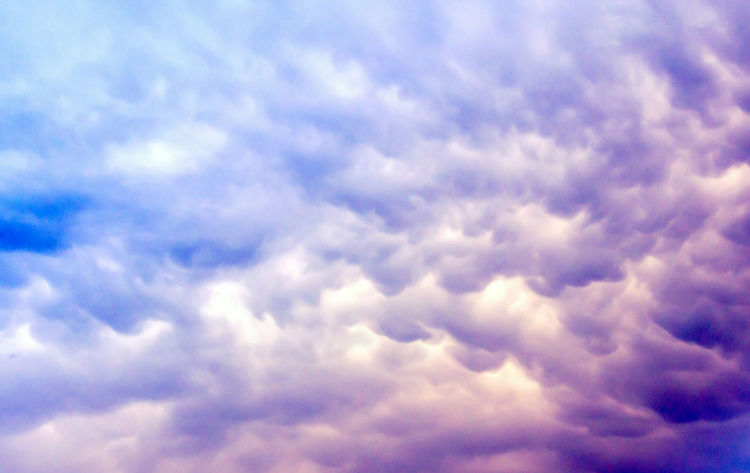 beautiful purple and blue cloudy sky background Cloudy Sky And Clouds Background Backgrounds Beauty In Nature Blue Cloud - Sky Cloudscape Day Full Frame Low Angle View Nature No People Outdoors Scenics Sky Sky Only Tranquil Scene Tranquility