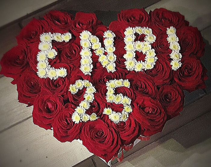 My life Enbi baby ❤❤❤ Red Text Indoors  Communication No People Close-up Day Flower