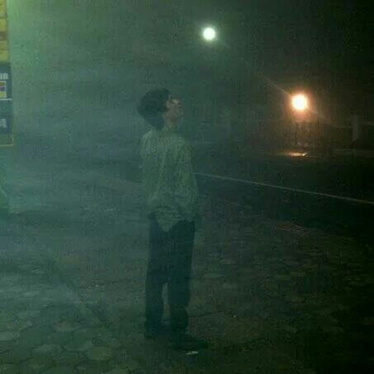 Fog Mist Silent Hill Silent Moment Lonely Nightphotography No Edit/no Filter Lembang Bandung Bandung, West Java