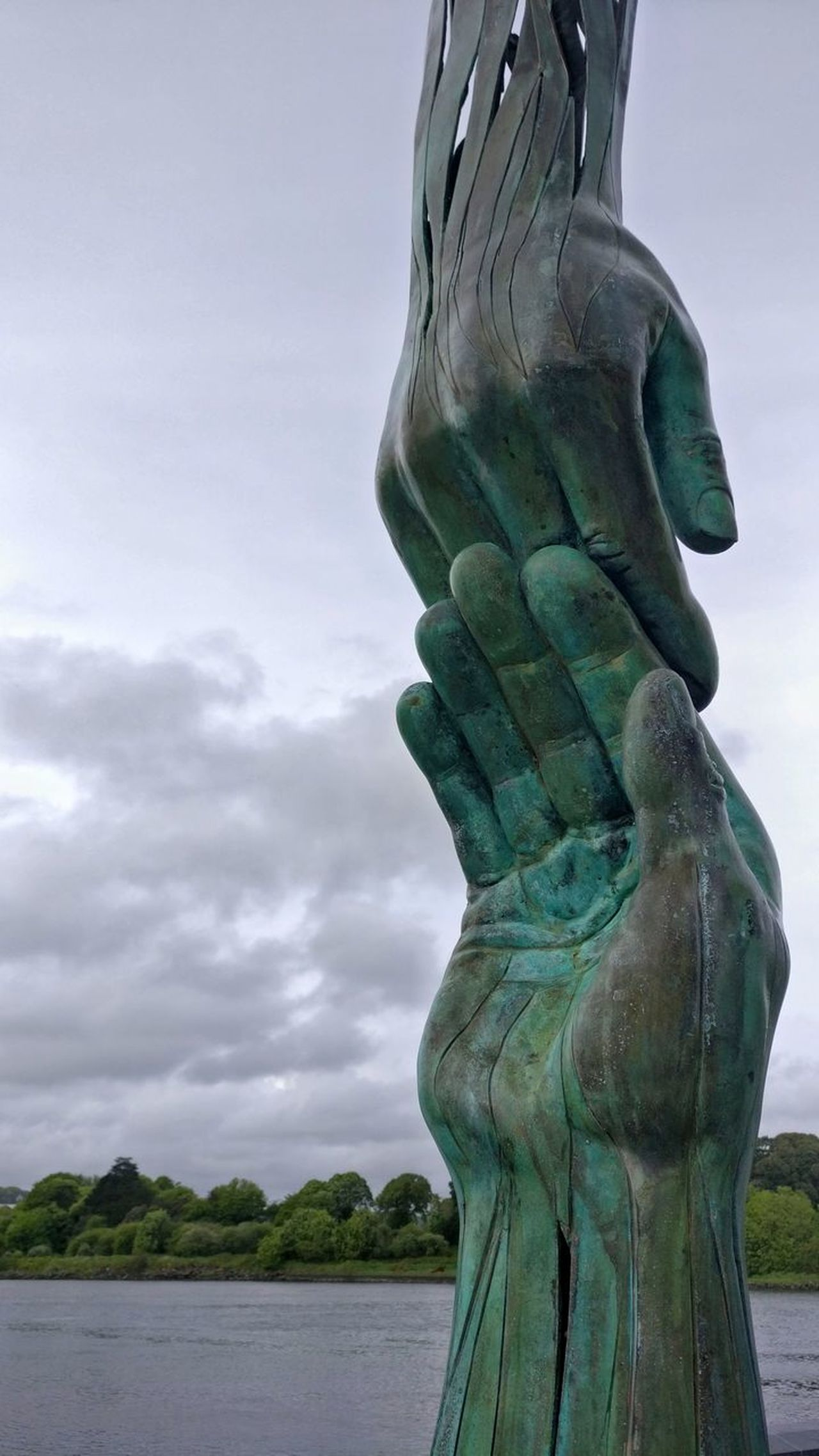 Statue Ireland🍀 Hanging Out Ireland Skyline Outdoors❤ Walking Outside Outdoor Photography Sky Clouds And Sky