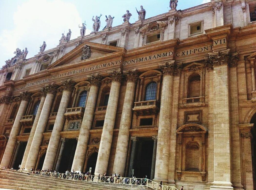 Vatican In Rome Traveling Italy