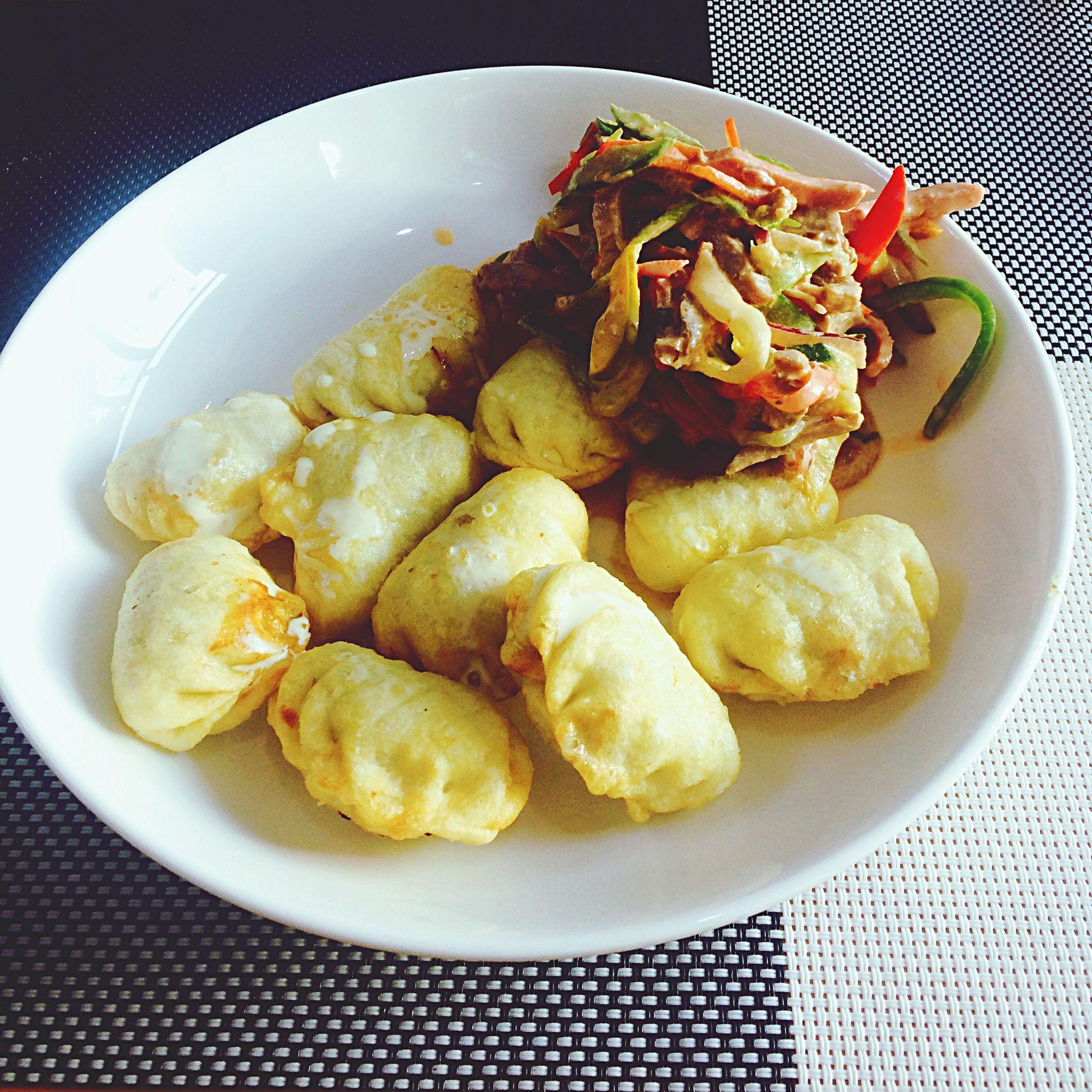 Naranbileg Restourant Lunch Time! Fried Dumpling