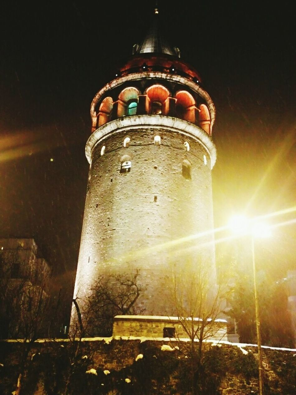 Galata Tower View Istanbul #turkiye ıt's Cold Outside First Eyeem Photo Hot Wine Betuful 😀😀