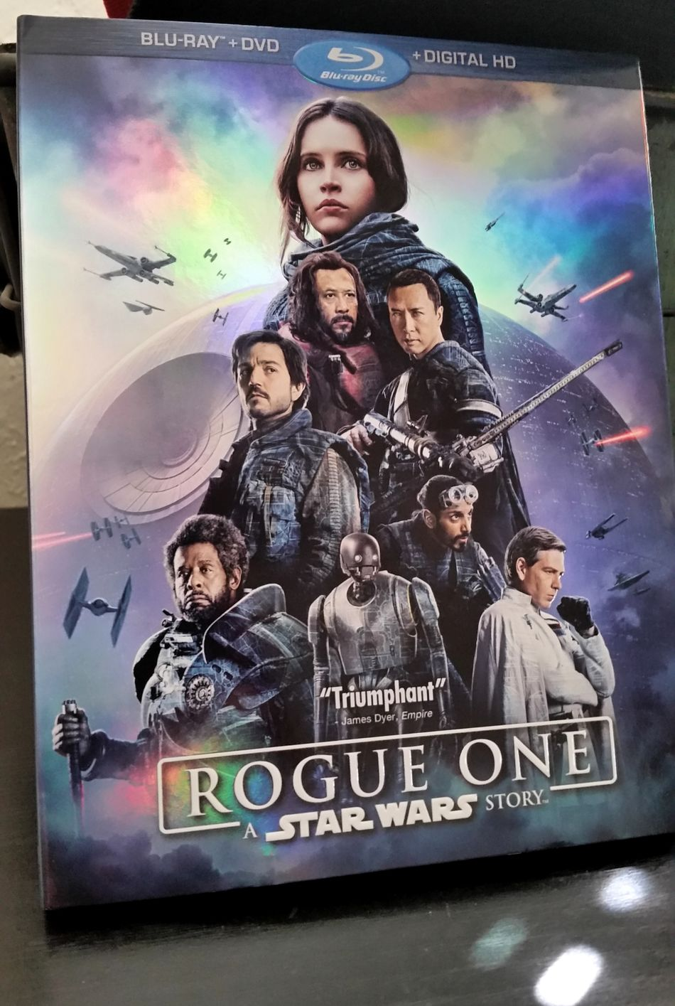 Gonna be a great Sunday... Movie Time Rogue One Star Wars Science Fiction