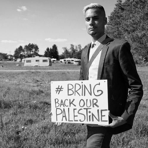 Liberté et Sécurité pour le peuple de Palestine. @bravworld BRINGBACKOURPALESTINE - Nakba Photographie - Miloud Kerzazi