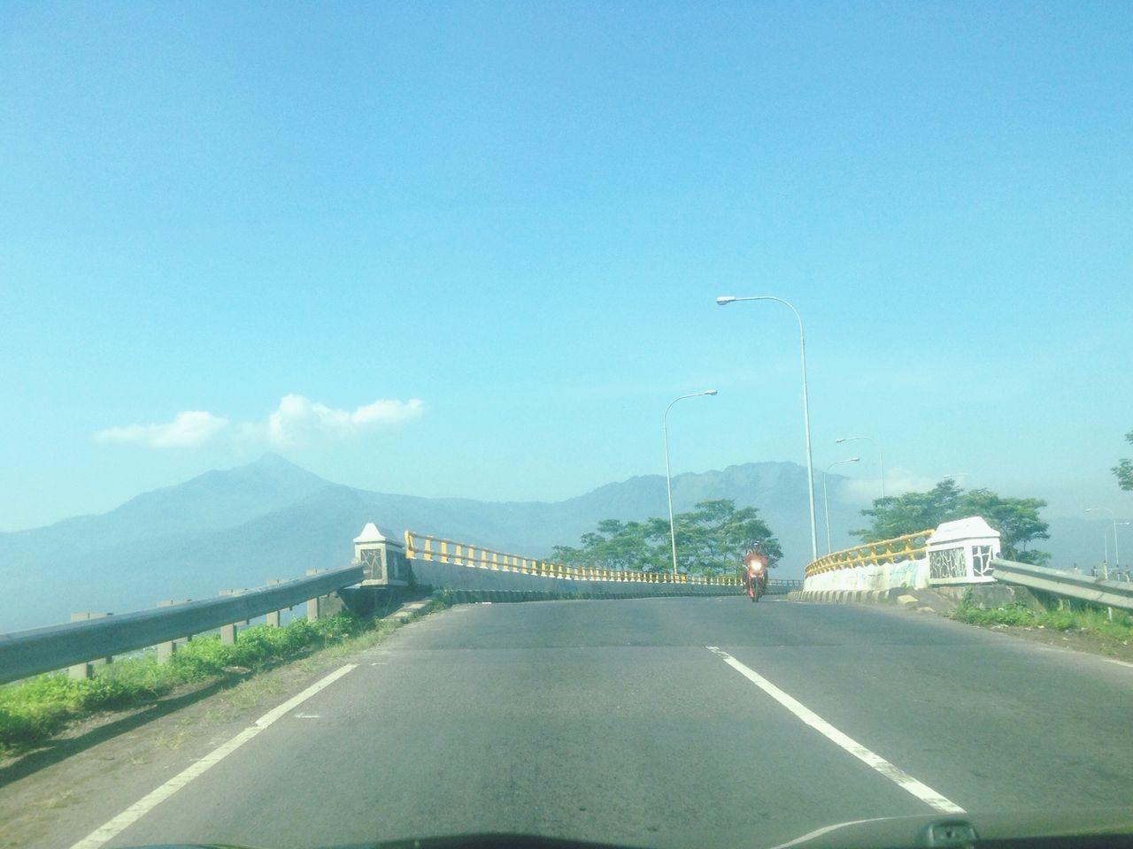 Sunrise Road Roadtrip Cloud - Sky Cloud Sky Mountain Merapi Jawatengah INDONESIA IPhoneography IPhone