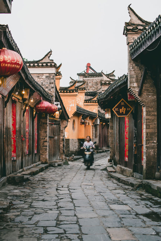 Sanhe, Anhui, China Ancient Anhui Architecture Brick Building Exterior China Chinese Classic Culture Cultures History Residences Sanhe Street Photography Today's Hot Look Tourism Town Travel Travel Destinations