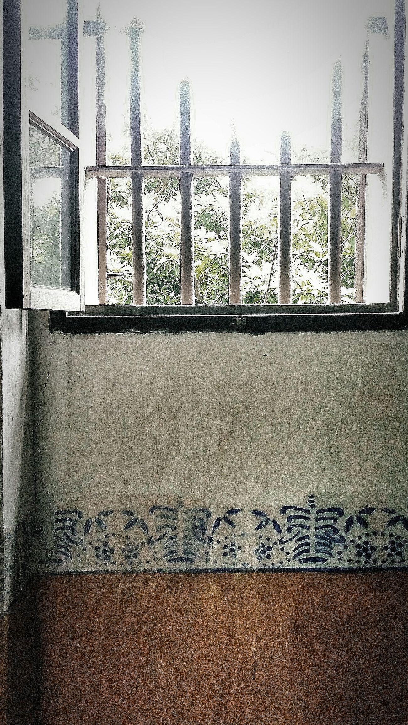 Windows Bars Protection Bandits Interior Diaolou Zili Village Kaiping Jiangmen Guangdong