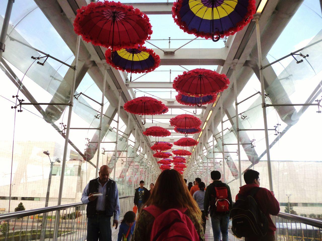Bogota. Colombia Umbrellas Marypoppins Sudamericano Esgrima '15