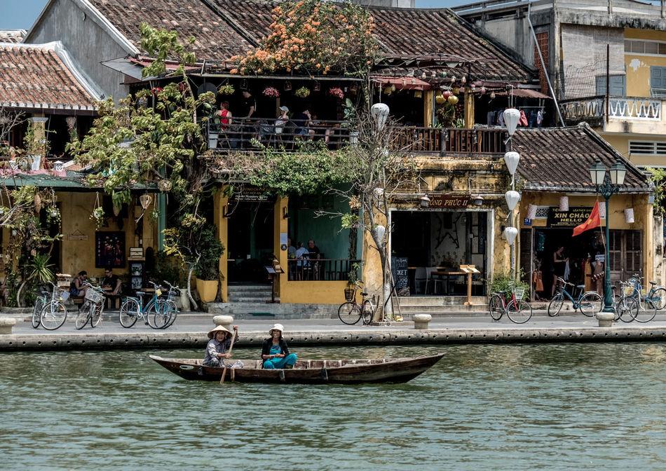 Boat, Thu Bon River, Hoi An, Vietnam Architecture Water Street Hoi An FUJIFILM X-T2 Vietnam Boat