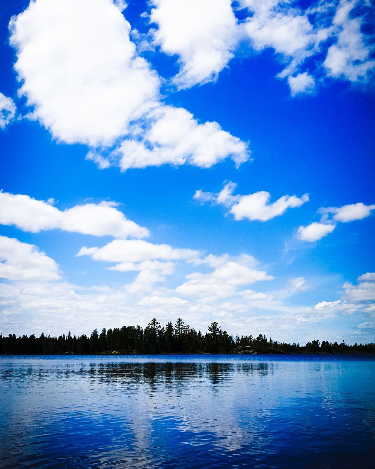 BWCA Cloud - Sky Nature Water Blue Tree Lake Scenics Sky Outdoors Tranquility No People Beauty In Nature Day Landscape Minnesotalife Minnesota Lake Minnesota Nature
