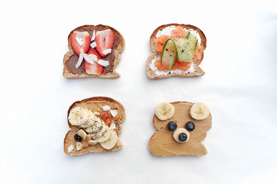 Sandwiches Directly Above White Background Food Healthy Eating Bread Sandwich No People Toasted Bread High Angle View Appetizer Brunch Close-up Breakfast Sandwich