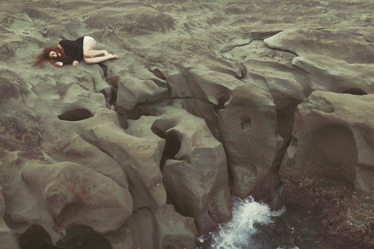 """""""Sea of Sorrow"""" serie. Lost in the bay 🌊🌊🦅. Federica, 2017. Outdoors Nature Water Girl Beauty In Nature Landscape EyeEm Nature Lover Earth Power In Nature EyeEmNewHere Portrait People Beauty Canon Sardegna EyeEm Best Shots EyeEm Gallery Nature Youth Geology Isolated Portrait Of A Woman Tranquility Seascape Sea EyeEmNewHere"""