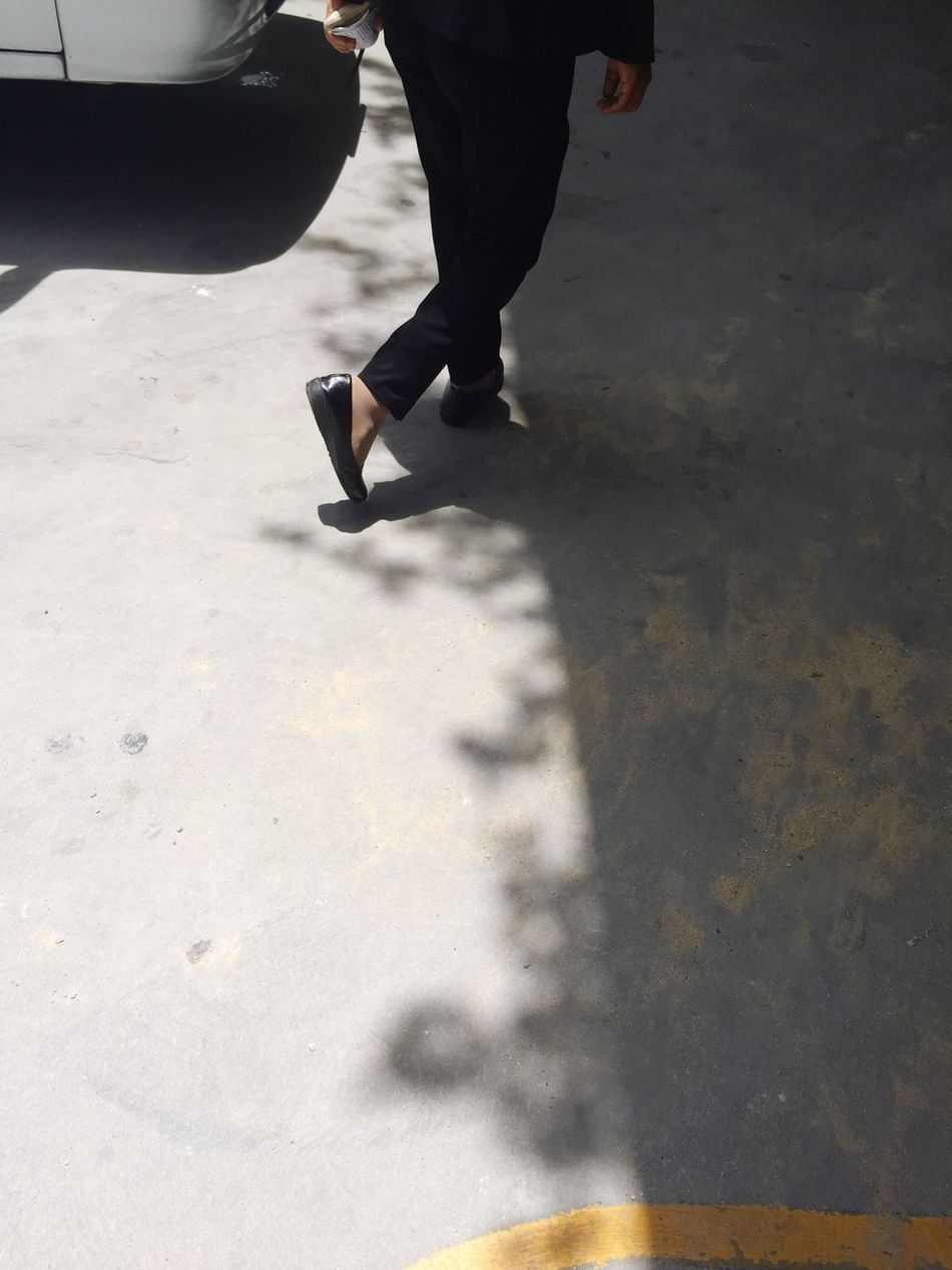 Taking Steps Steps Cross Zone Light And Shadow Street Trespassing Comfort Zone Creative Light And Shadow