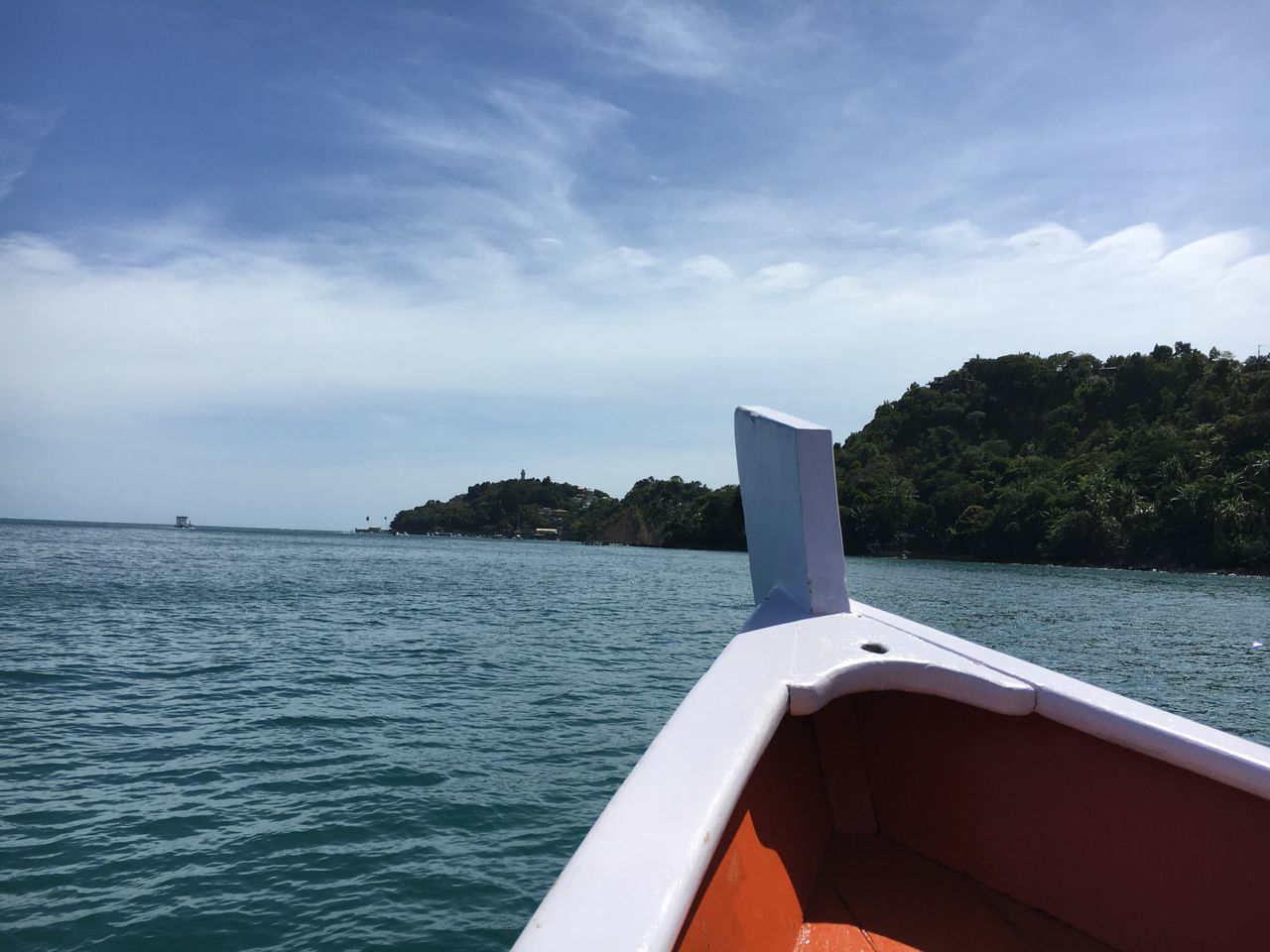 Boat Sea Nature Brazil