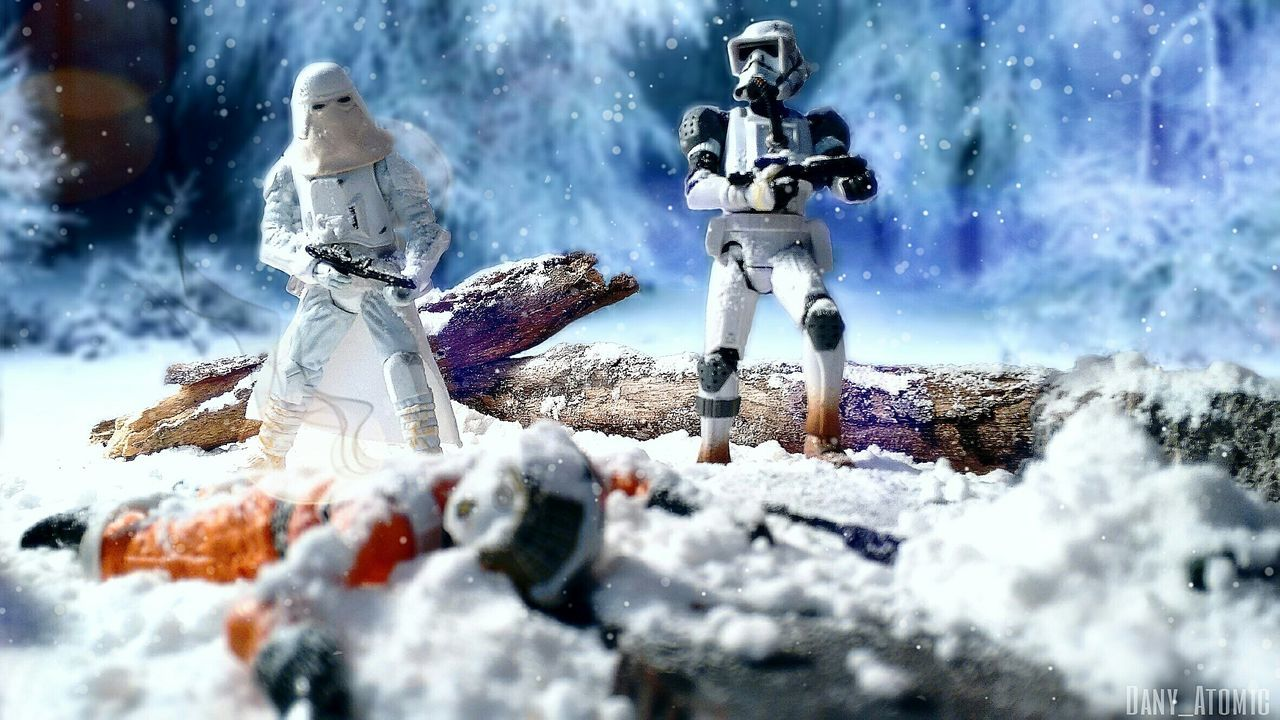 A rebel has fallen today Toyphotography Snowtrooper JumpTrooper Rebelalliance TheSkywalkerlegacy Rebeltoysclub Starwars Hoth
