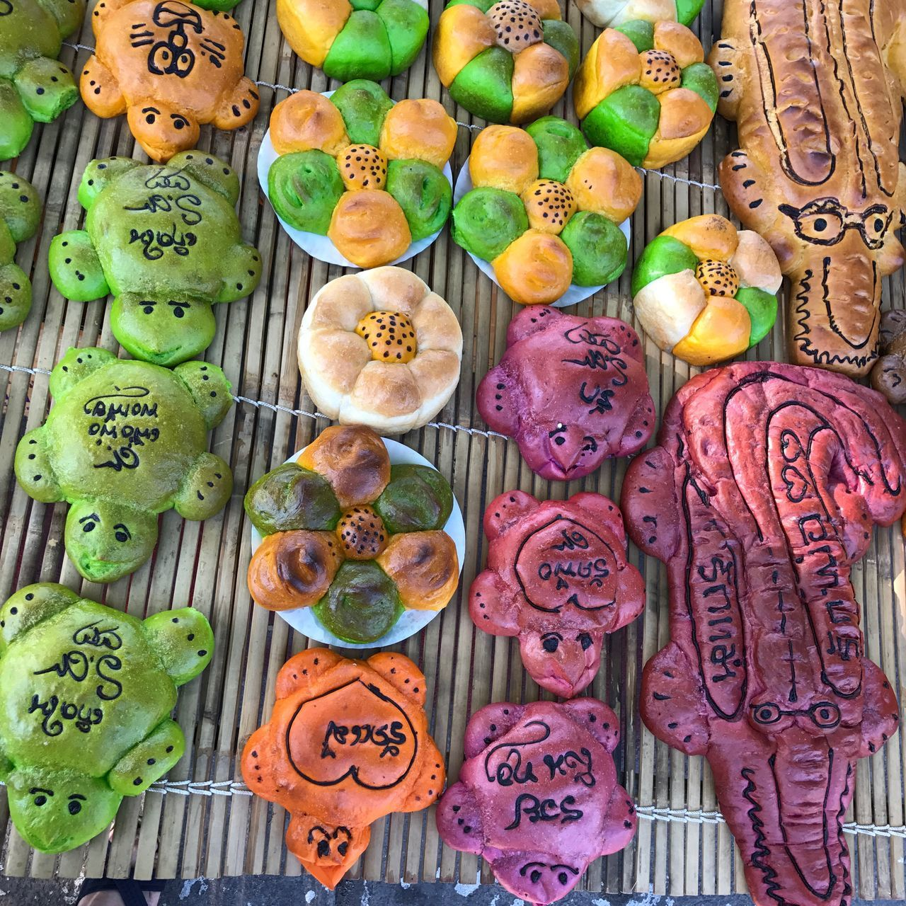 Bread Great Floating On Water Loykrathong Festival Thailand Thaiculture Thailandtravel Festival ASIA Asian Culture Colorful