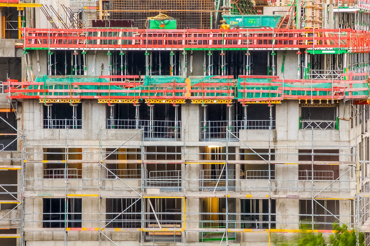 put up a building Architecture At Site Building Building Exterior Building Lot Building Site Building Yard Built Structure Construction Construction Area Construction Site Exterior Falsework Lot No People On Site Put Up A Building Scaffold Scaffolding Site Structure