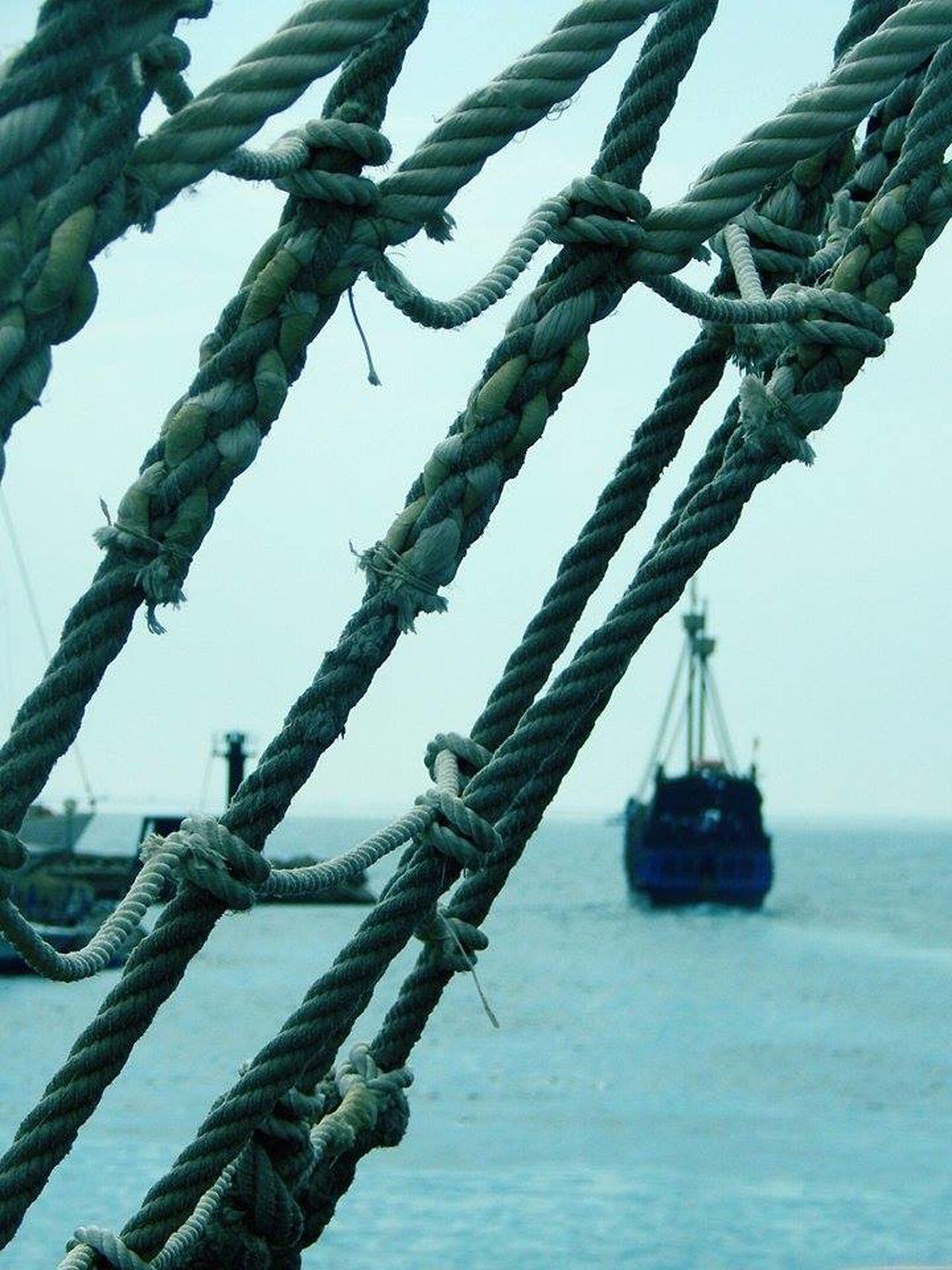 Mediterranean Sea Pirate Pirateship  Sea Sky Tranquility Transportation Water