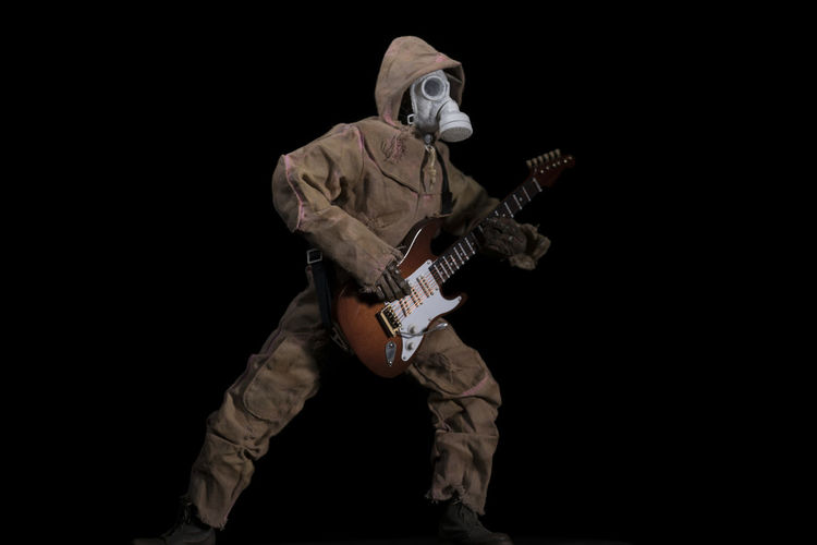 gas mask hoody Disguise Music Pink Punk Rock Youth Of Today Dirty Disaffected Dystopian Garden Guitar Instrument Mask Musician Pink Hooded Jumpsui White Gas Mask