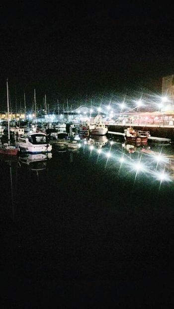 Boats⛵️ Night Photography Plymouthbarbican
