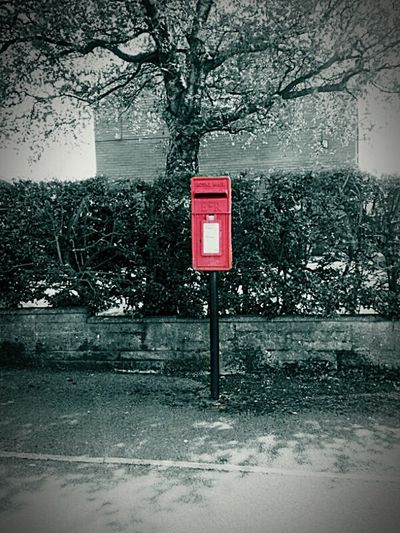 Postbox Post Box  Red Post Box Urban Photography Letterbox Street Photography Posted Post Colour Splash Coloursplash