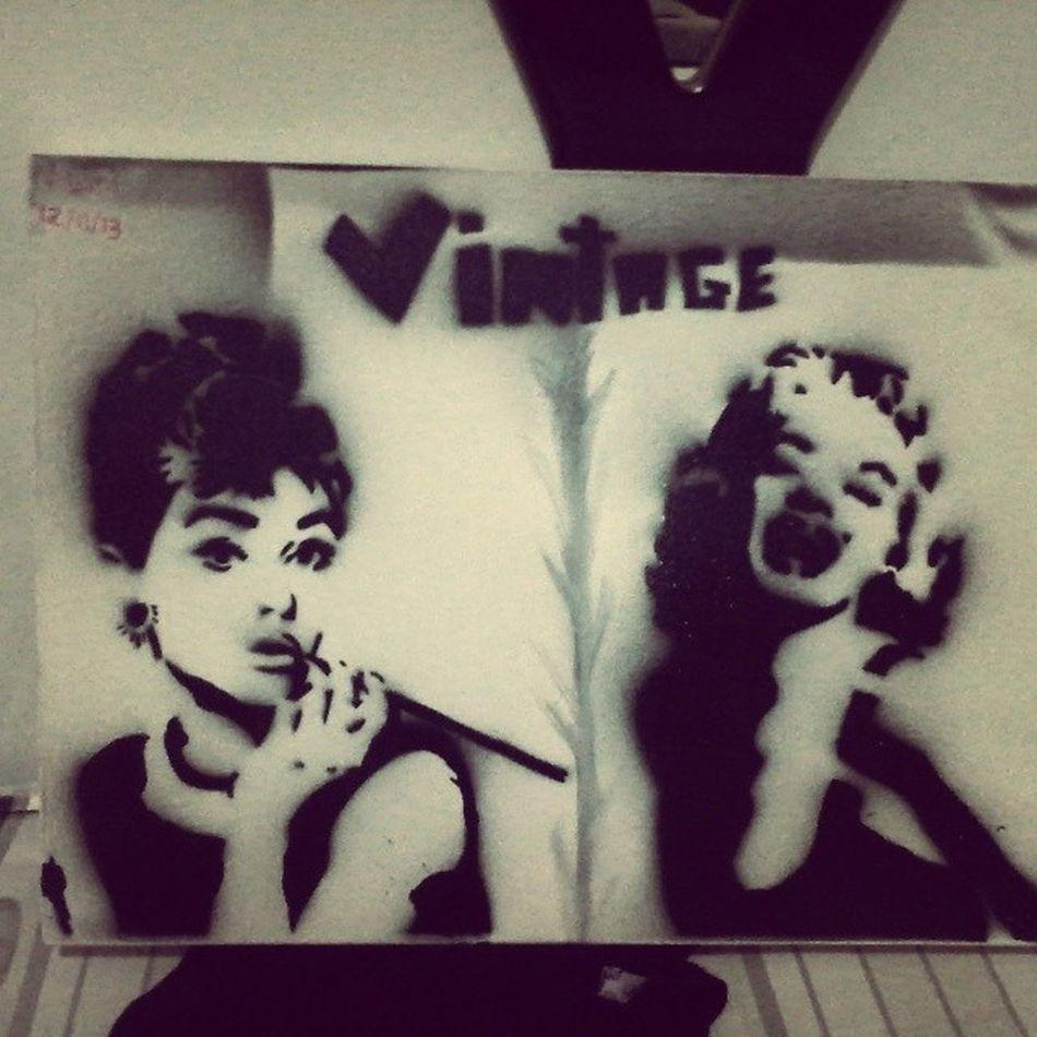 Stencill Art StencillArt StencillArt vintage