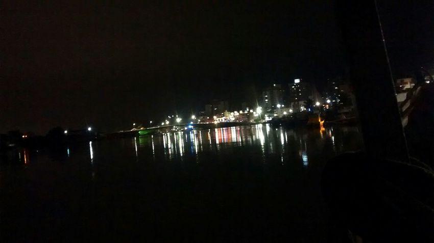 Guarapari Cityscapes City Lights Sea Night Lights On Board